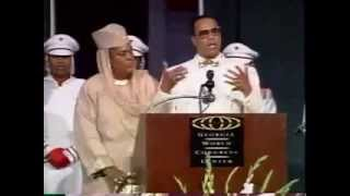 Minister Louis Farrakhan- Beside Every Great Man Is A Woman
