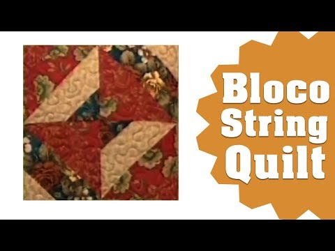 Thumbnail: Patchwork Ana Cosentino: String Quilt Block
