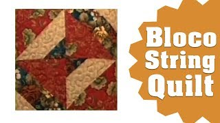 Repeat youtube video Patchwork Ana Cosentino: String Quilt Block