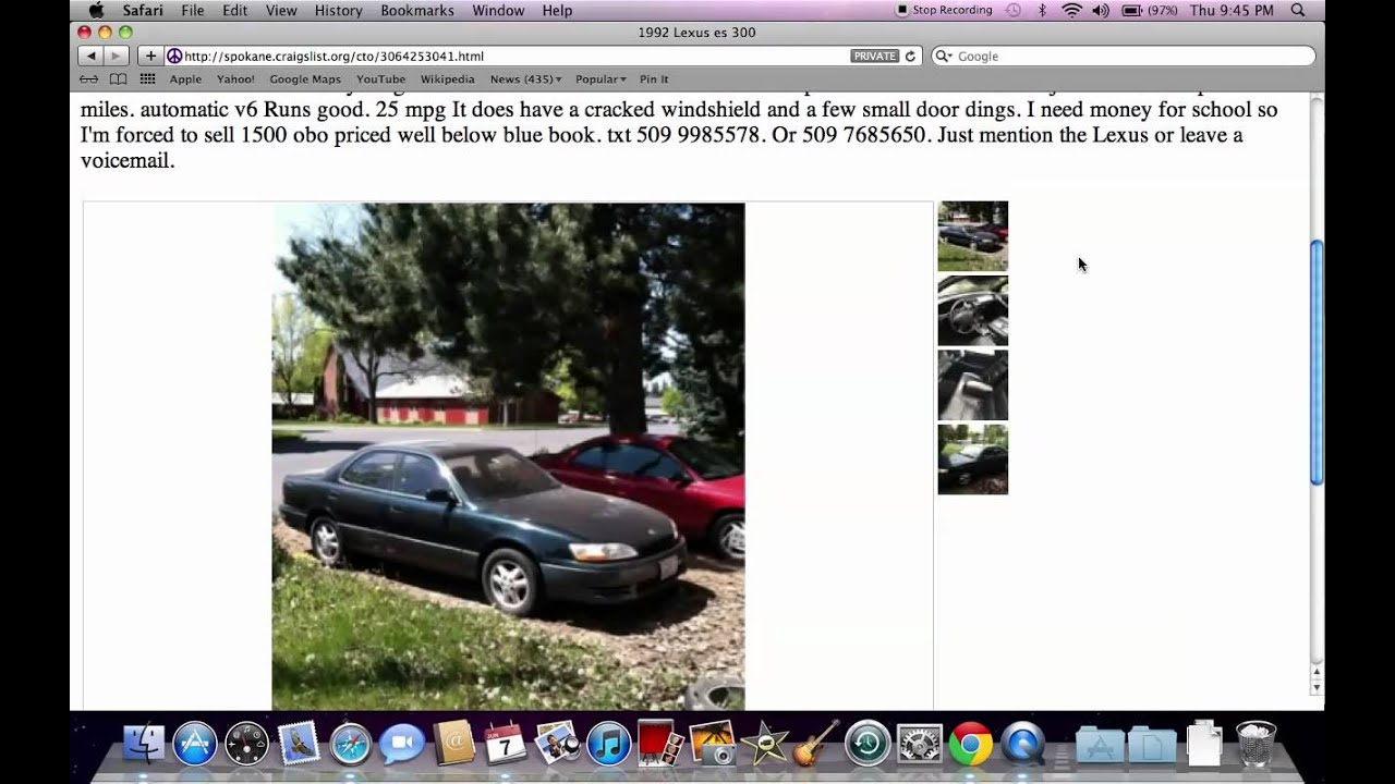 Craigslist coeur d alene idaho used cars for sale by owner models in 2012 youtube
