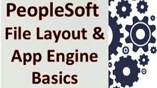 PeopleSoft File Layout and Application Engine
