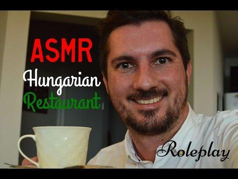 ASMR Waiter Roleplay - Hungarian Restaurant (soft male voice) /hun sub/
