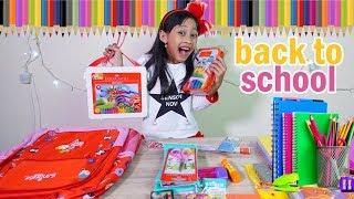 Back to School Haul - keperluan sekolah Mecca