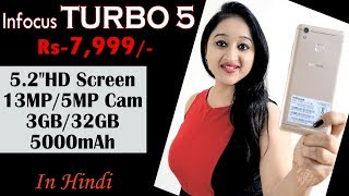 Infocus Turbo 5 Unboxing amp Overview- In Hindi