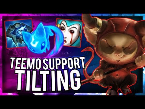 TEEMO SUPPORT POKE IS NOT FUN AT ALL - I'M SORRY - League of Legends Season 8 Metamancer