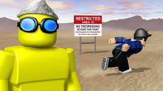 RAIDING AREA 51 IN ROBLOX