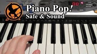 Safe and Sound Piano Lesson - Taylor Swift ft. The Civil Wars - Easy Piano Tutorial