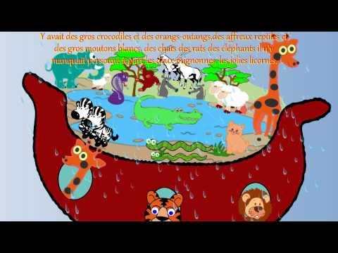 Y' Avait des Gros Crocodiles( La Licorne )-L'Arche de Noé