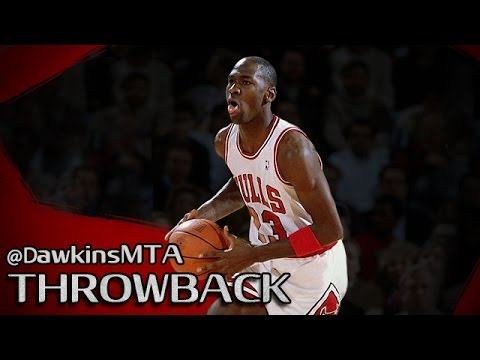Michael Jordan Full Highlights 1987.01.08 vs Blazers - 23 Yr-Old MJ With 53 Pts!