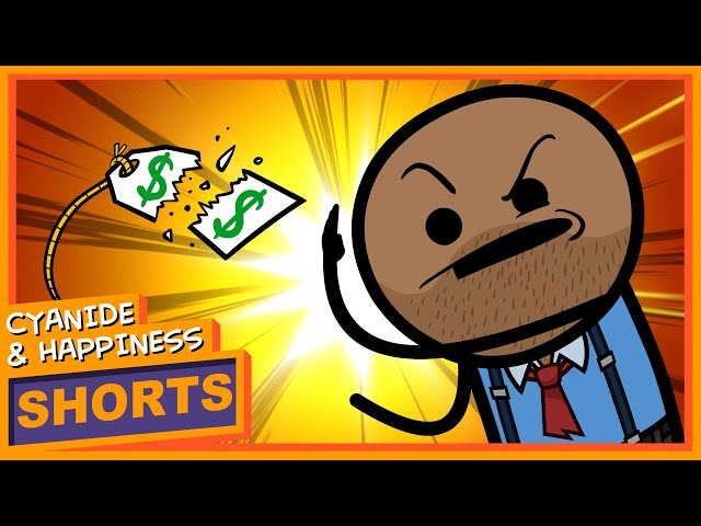 Half Off - Cyanide & Happiness Shorts