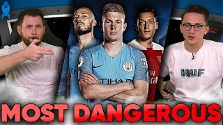 Premier League's Most DANGEROUS Playmaker Is… | #StatWars