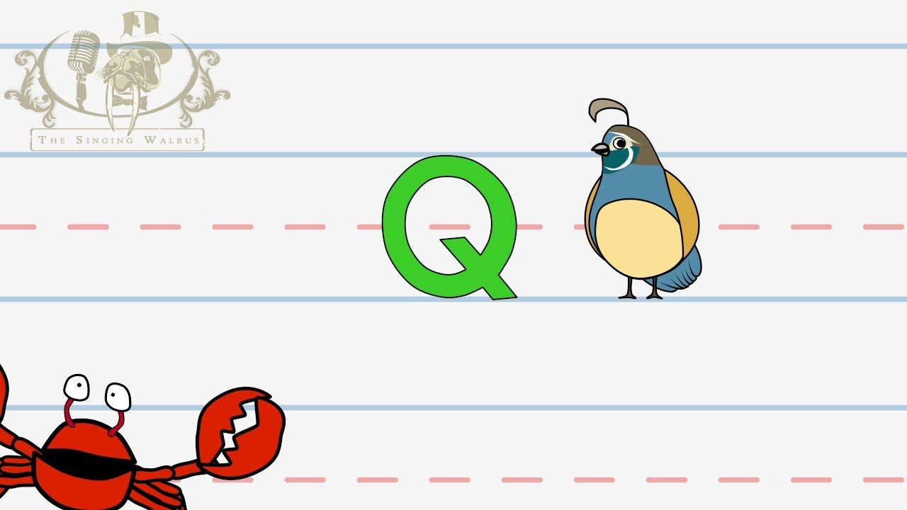 Write The Letter Q