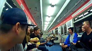 Второй день в Новосибирске/Зоопарк/Тусовка на вписке/Автостопом из Оренбурга до Азии