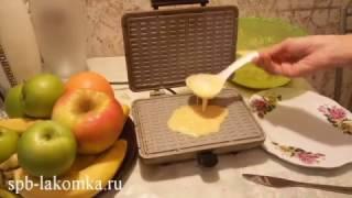 Вафельница Лакомка как в СССР. Выпечка отстает от поверхности идеально.