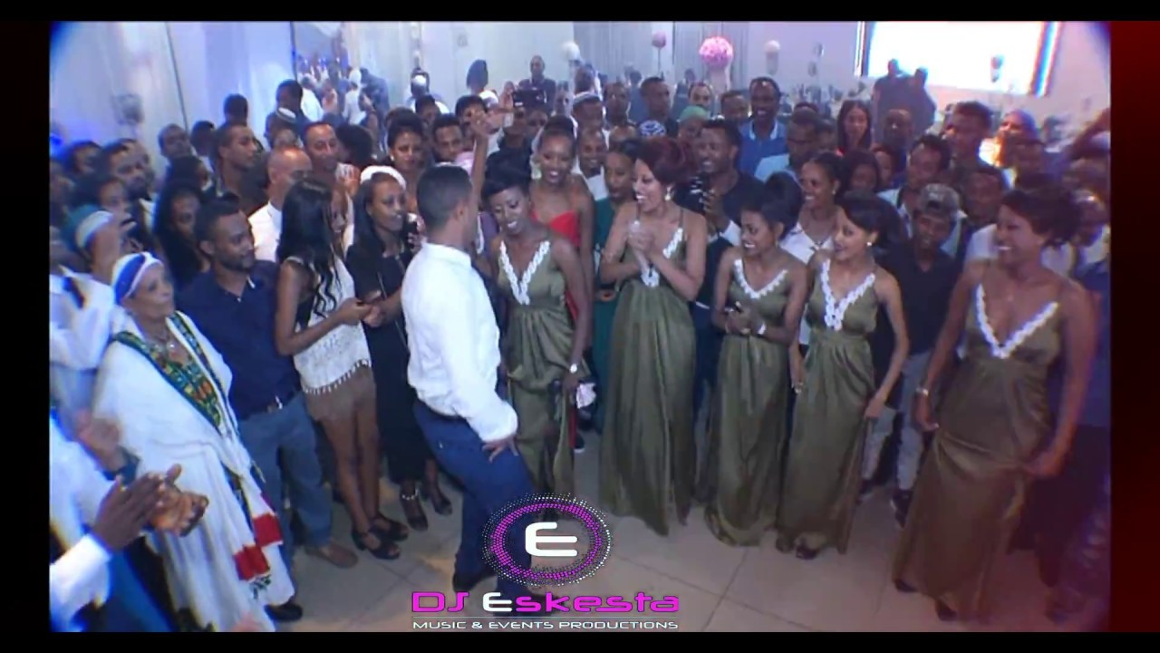Dj Eskesta Pro Amp Tamiru Amp Aregitu Wedding Party New Ethiopian Music 2017 9720547853893