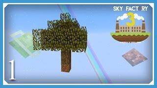 FTB Sky Factory 3 | New Skyblock - Wood Age | E01 (Modded Skyblock Minecraft 1.10.2)