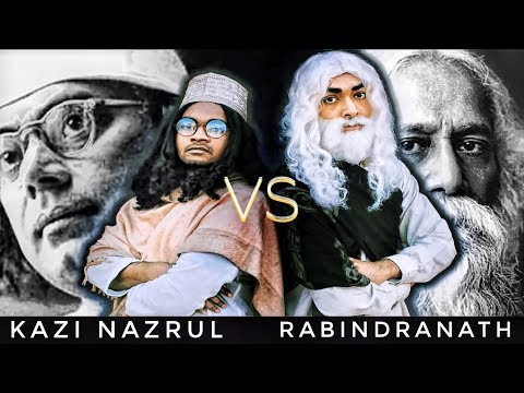 Kazi Nazrul Vs Rabindranath Tagore (Epic Bangla Rap Battle) | Fusion Productions