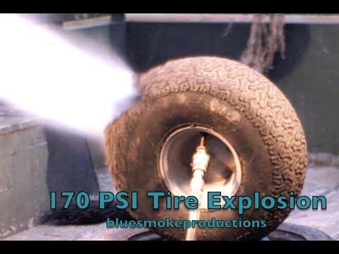 170 Psi Tire Explosion
