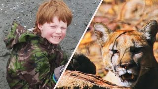 Mom Fights Cougar That Attacked 7-Year-Old Son