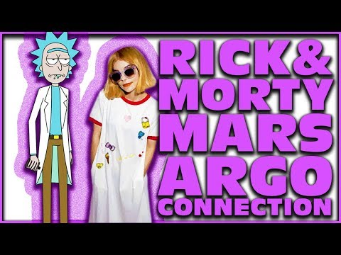 RICK AND MORTY MARS ARGO CONNECTION 336 ( DAN HARMON INTERVIEWS MARS ARGO )