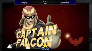 KVO スマブラWiiU部門 WB2 Saiya vs Komorikiri/KVO Smash WiiU
