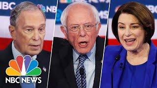 Watch Highlights Of The Democratic Debate In 5 Minutes | NBC News