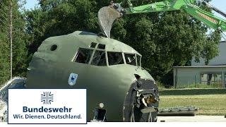 Transall auf der Schlachtbank - so verschrottet die Bundeswehr ihr legendäres Flugzeug