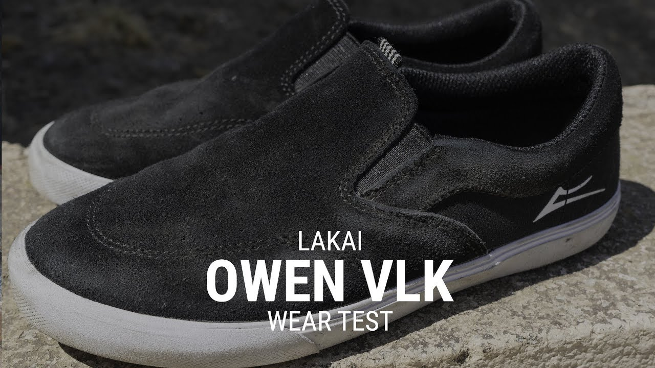 Lakai Owen VLK Skate Shoe Wear Test