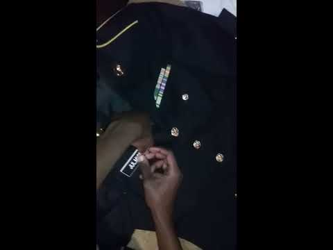 How To Put Your Ranks Ribbon and Your Torch On Your Blazer (JROTC)