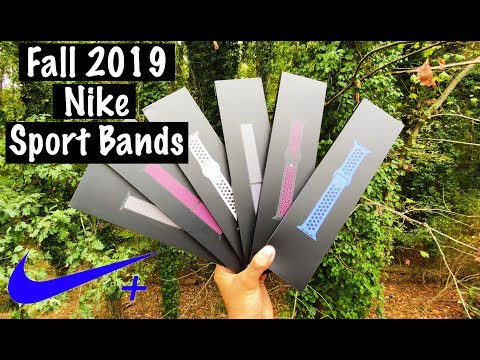 NEW Apple Watch Fall Nike + Sport Bands & Sport Loops - Unboxing & Review (ALL COLORS!)