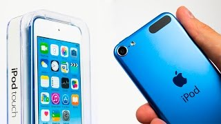 NEW iPod Touch (6th generation) - EPIC Unboxing & First Impressions!