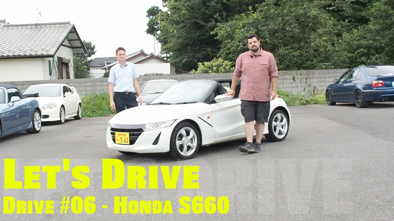 Let S Drive 06 Honda S660 Youtube