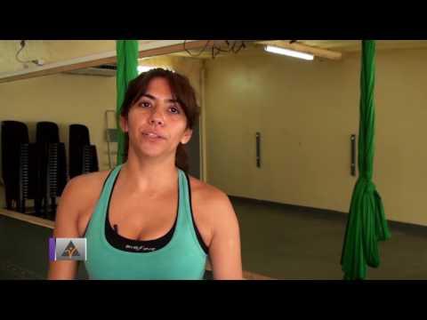 Clase Pilates Aéreo - Andrea Garrido