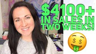 $4100+ IN SALES IN TWO WEEKS ON POSHMARK & EBAY! RESELLER WEEKLY SALES UPDATE!