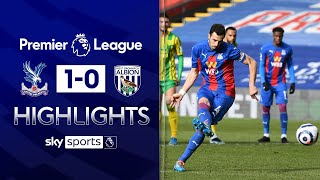 Milivojevic penalty helps Palace see off West Brom | Crystal Palace 1-0 West Brom | EPL Highlights