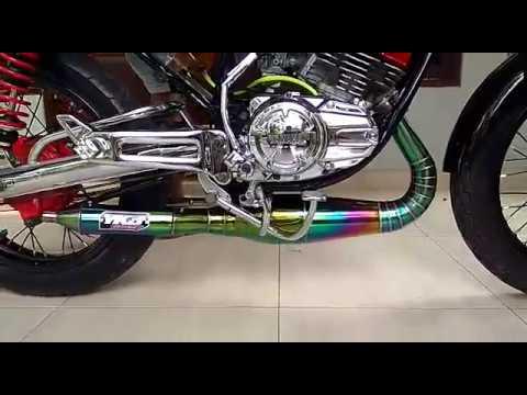 Tes Suara Knalpot Rx King YKJ   Rxking Part Nusantara Limited edition
