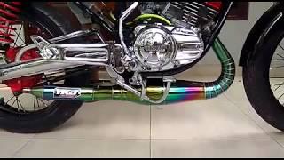 Tes Suara Knalpot Rx King YKJ | Rxking Part Nusantara Limited edition