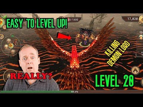 Phoenix Sim 3D - Killing Demon Lord (Lvl 20)