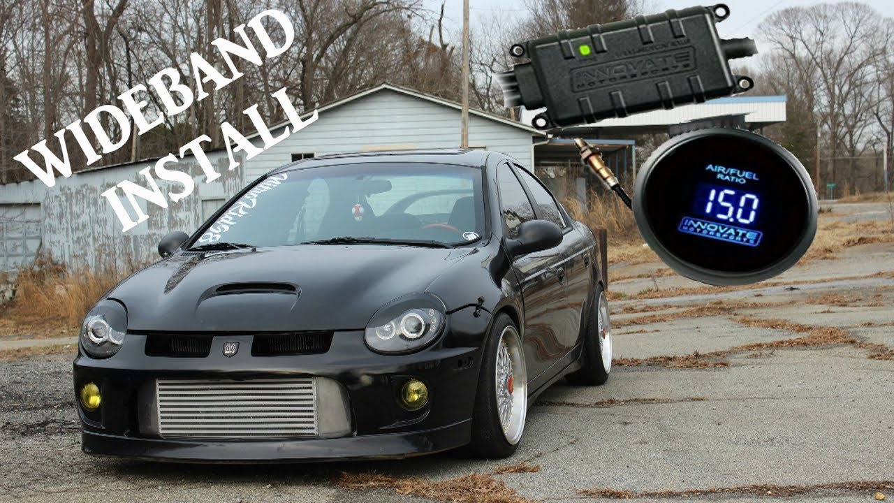 Srt4 Innovate Lc2 Wideband Install Plus Other Gauges Youtube Innovative Wiring