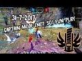 DN INA (93 lvl cap) Gladiator Captain mode (not so?) fun play (31July2017)