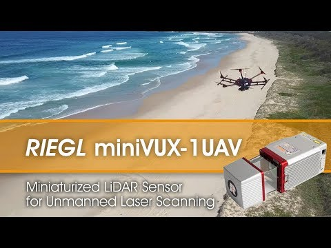 The RIEGL miniVUX-1UAV LiDAR sensor integrated with the DJI M600!