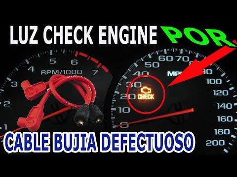 Solucion Encendido Luz Check Engine por Cable de Bujia Defectuoso