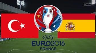 TÜRKEI gegen SPANIEN - EM 2016 FRANKREICH | HALBFINALE ◄TÜR #06►