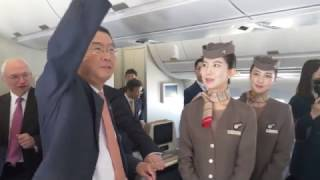 아시아나350 1호기 인수식 (Delievery ceremony of 1st ASIANA350)
