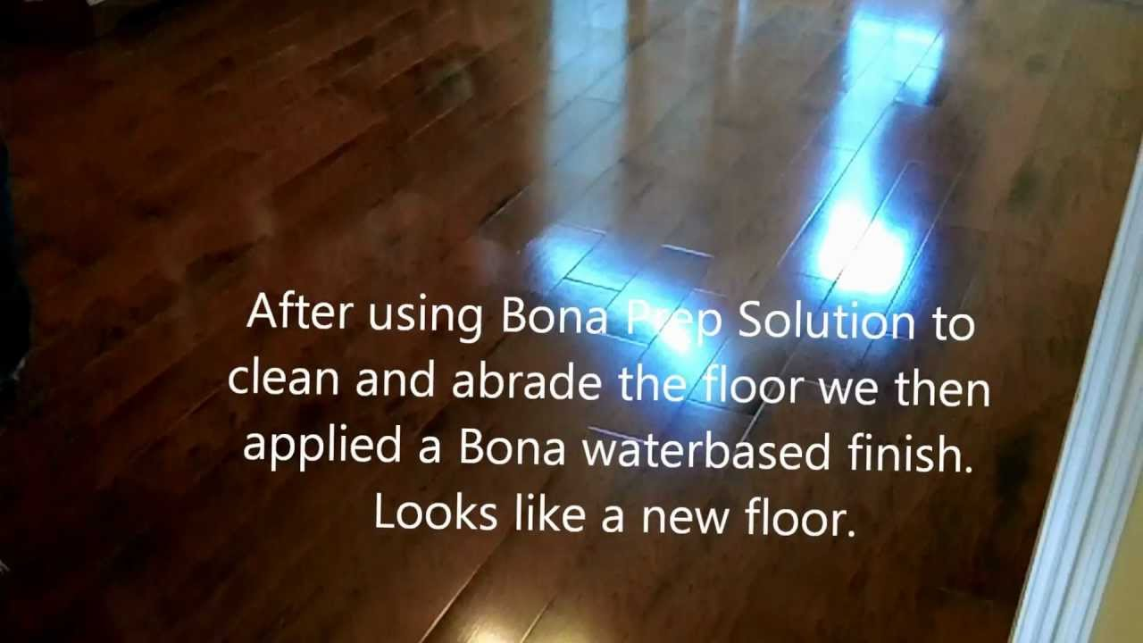 bona recoat (before & after) hd - youtube