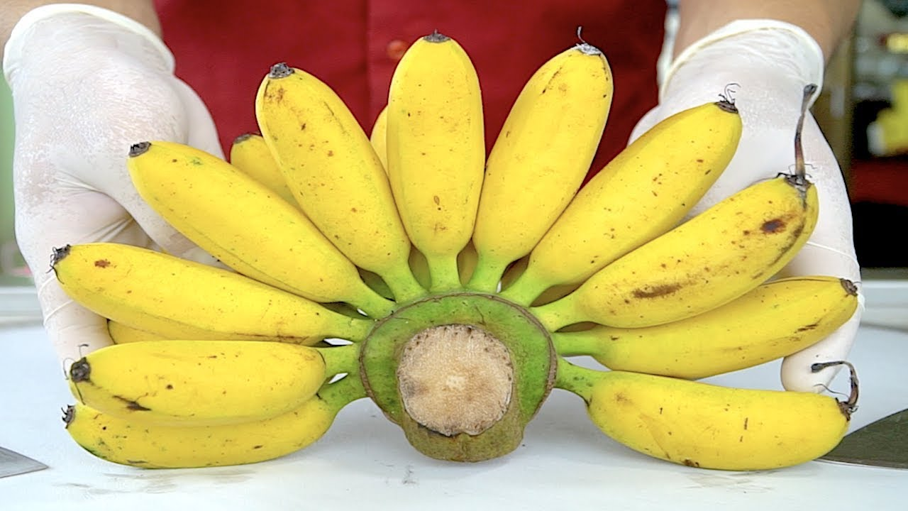 The best banana ice cream rolls in the world youtube the best banana ice cream rolls in the world ccuart Choice Image