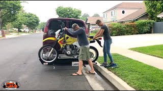 Heading to Overland Expo with the Motorcycle | Van Life S2:E8