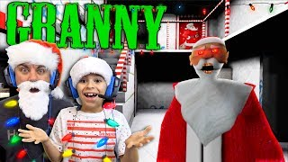 Christmas At Granny's House!! (Granny Horror Game)