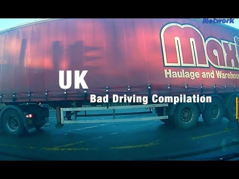 UK Bad Driving Dash Cam & Bike Cam Compilation April 2018