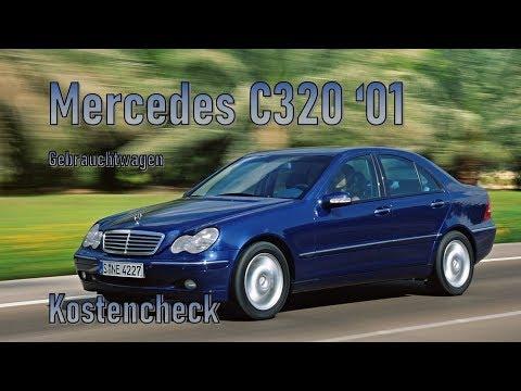 Mercedes-Benz C320 2001 Unterhalt | Gebrauchtwagen